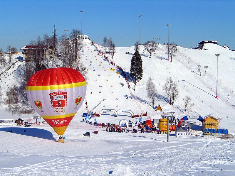 Зимний отдых в подмосковье лыжный курорт